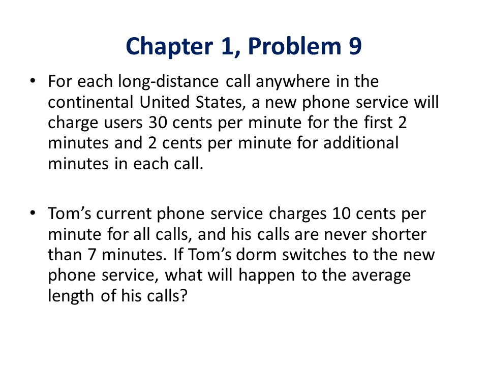Chapter 1, Problem 9