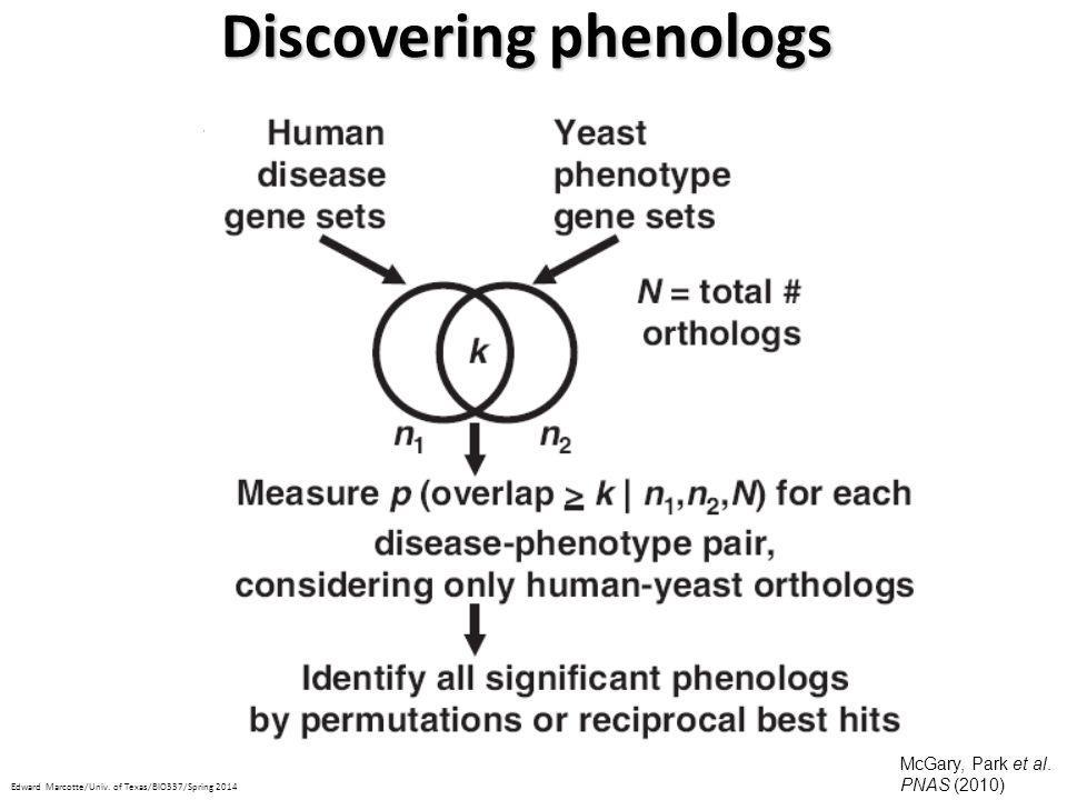 Discovering phenologs