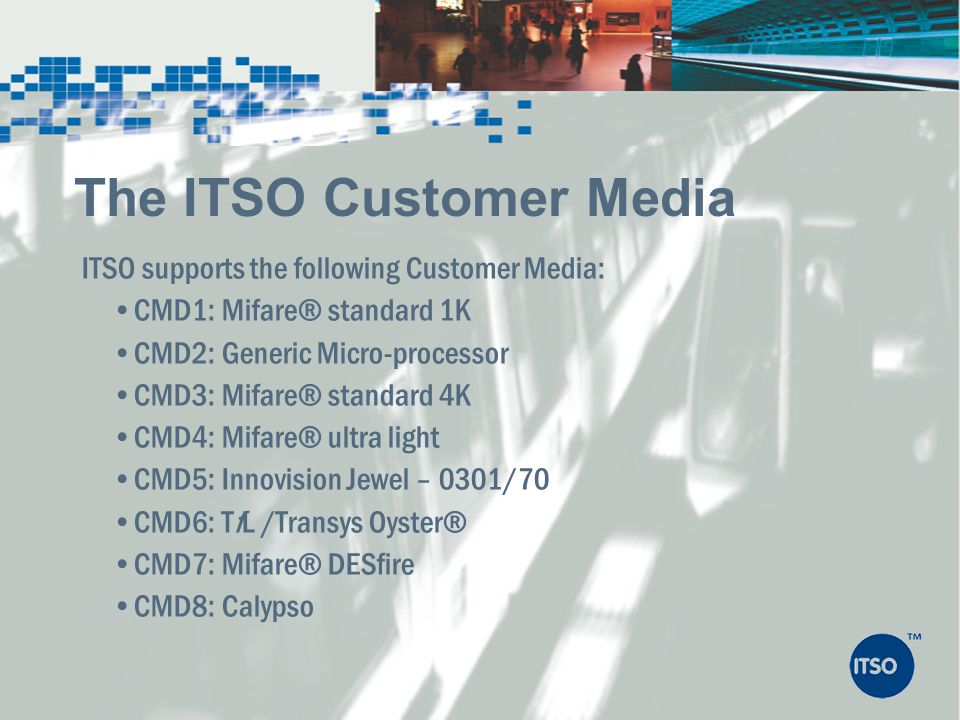 The ITSO Customer Media