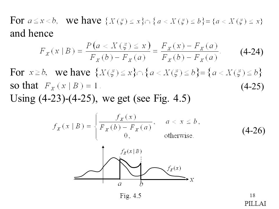 For we have so that Using (4-23)-(4-25), we get (see Fig. 4.5)