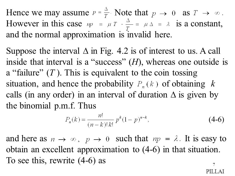 Hence we may assume Note that as However in this case is a constant, and the normal approximation is invalid here.