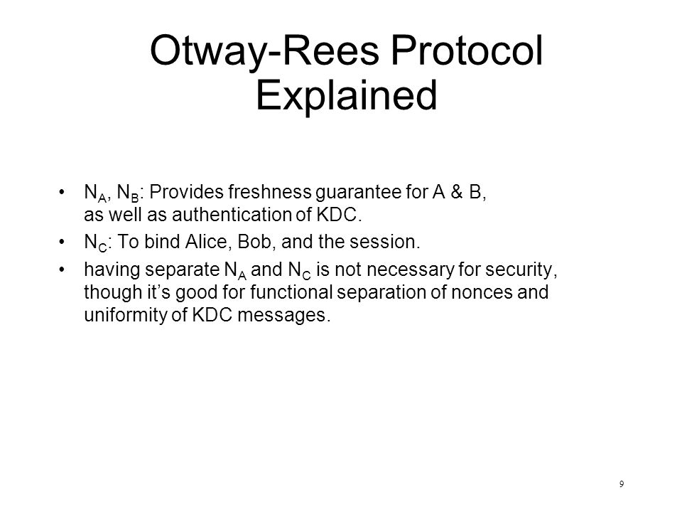 Otway-Rees Protocol Explained
