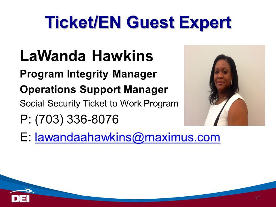 Ticket/EN Guest Expert