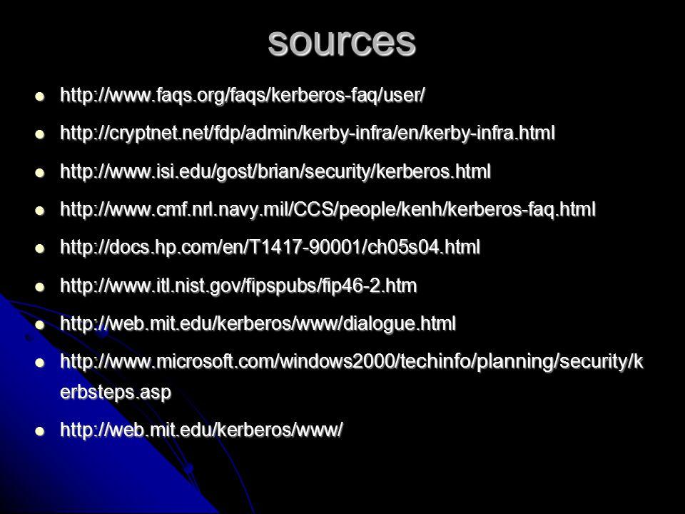 sources http://www.faqs.org/faqs/kerberos-faq/user/
