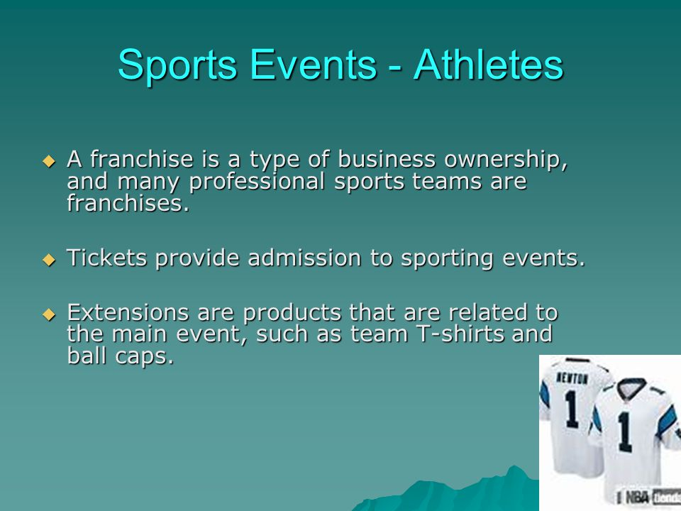 Sports Events - Athletes