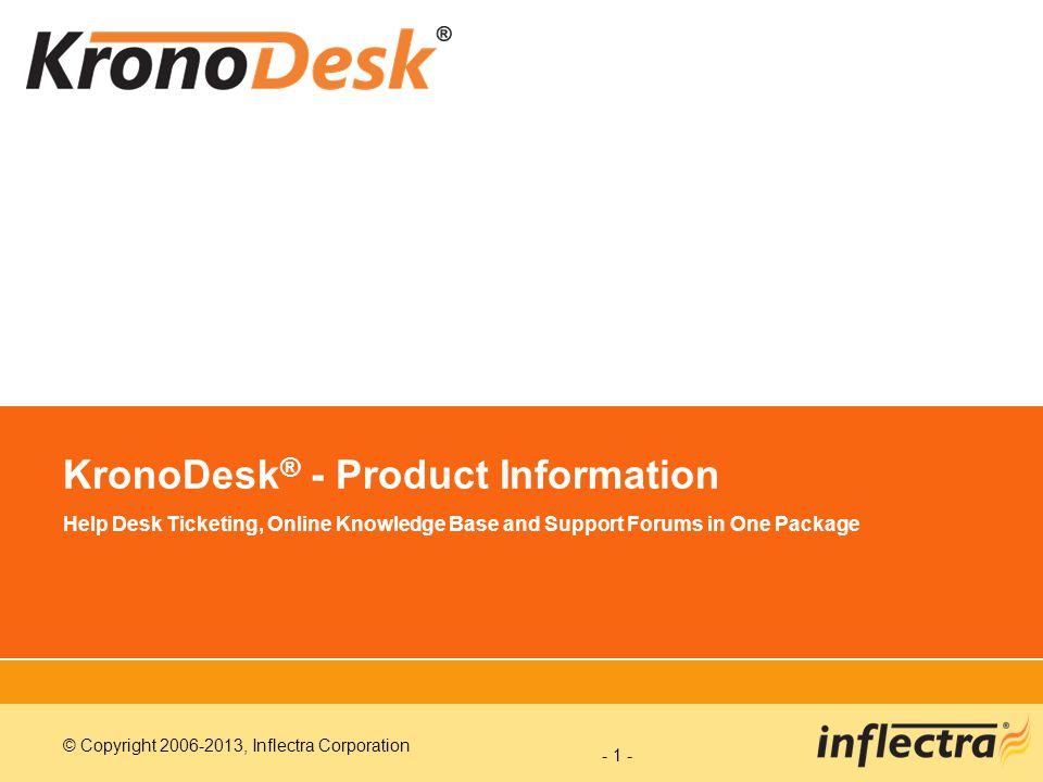 KronoDesk® - Product Information