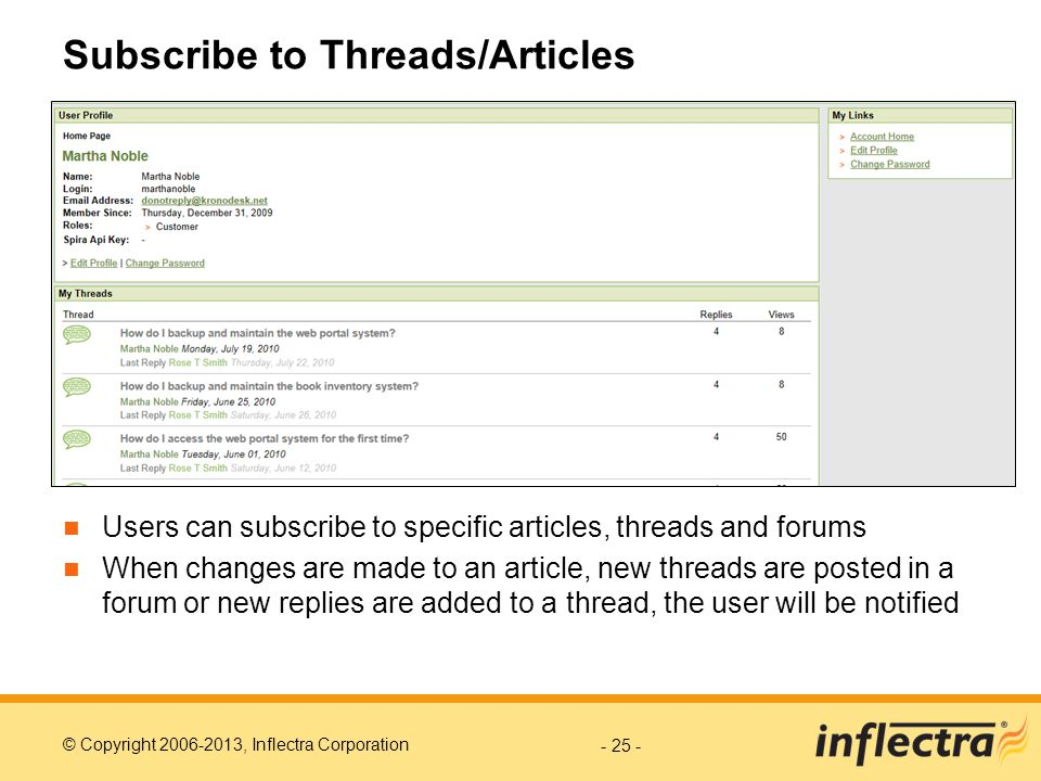 Subscribe to Threads/Articles