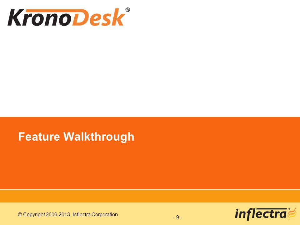 Feature Walkthrough