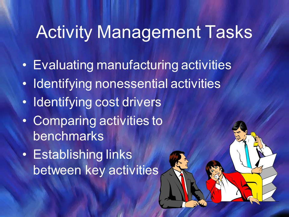 Activity Management Tasks