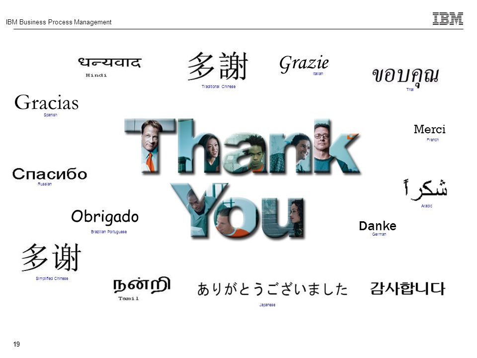 Gracias Grazie Obrigado Danke Merci Italian Traditional Chinese Thai