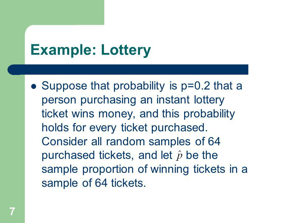 Example: Lottery