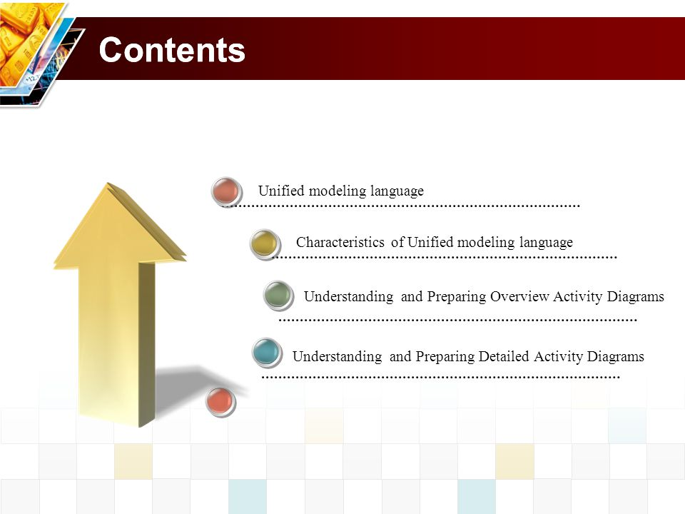 Contents Contents Unified modeling language