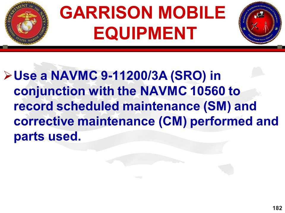 GARRISON MOBILE EQUIPMENT