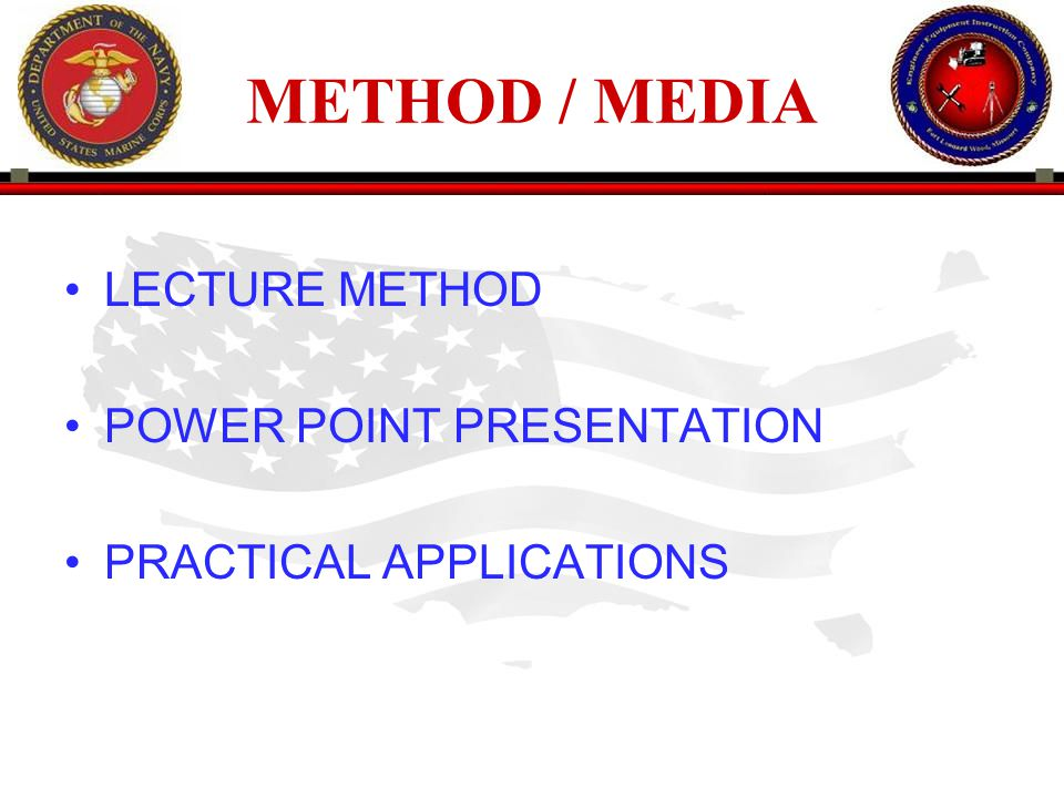 METHOD / MEDIA LECTURE METHOD POWER POINT PRESENTATION