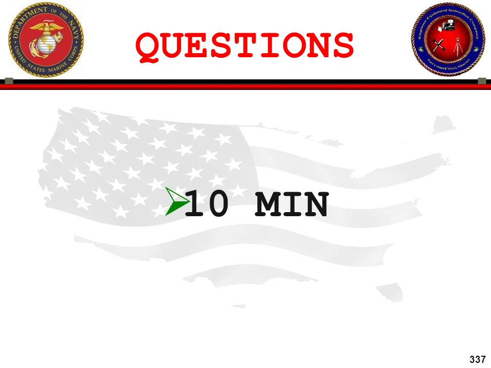 QUESTIONS 10 MIN