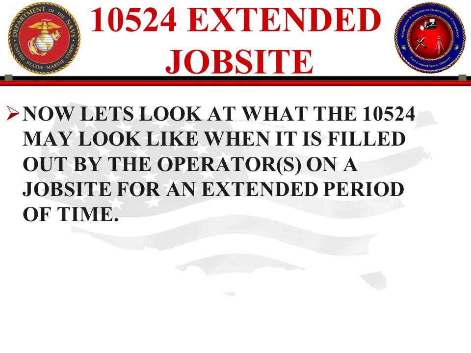 10524 EXTENDED JOBSITE