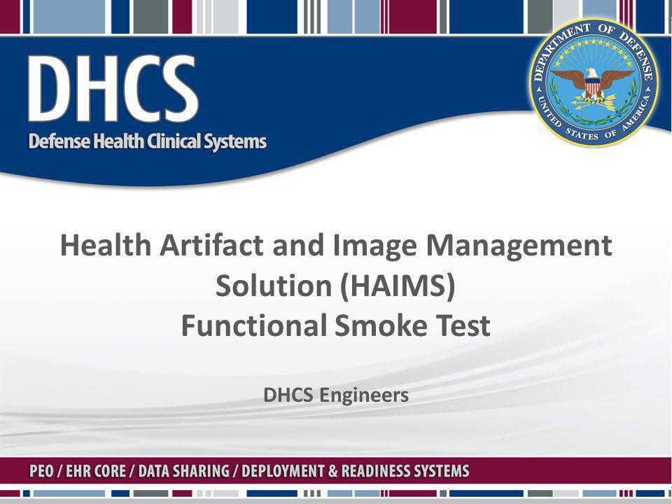 Health Artifact and Image Management Solution (HAIMS)