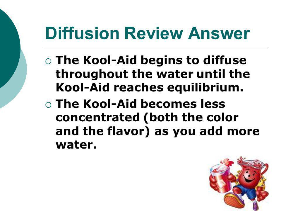 Diffusion Review Answer