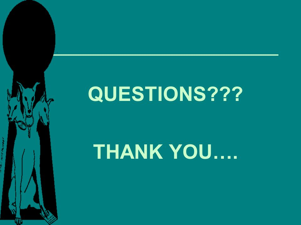 QUESTIONS THANK YOU….