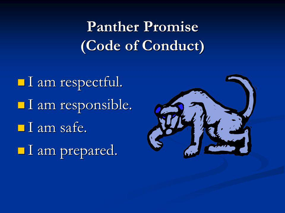 Panther Promise (Code of Conduct)