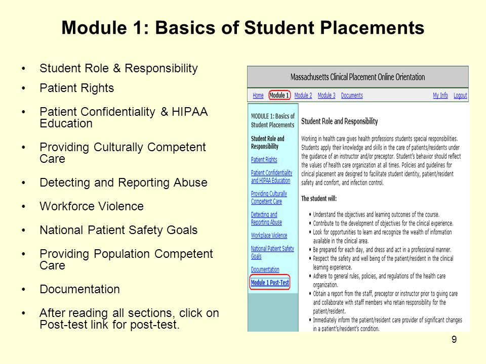 Module 1: Basics of Student Placements