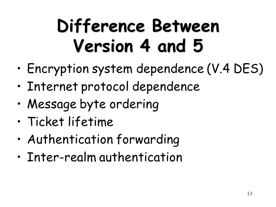 Difference Between Version 4 and 5