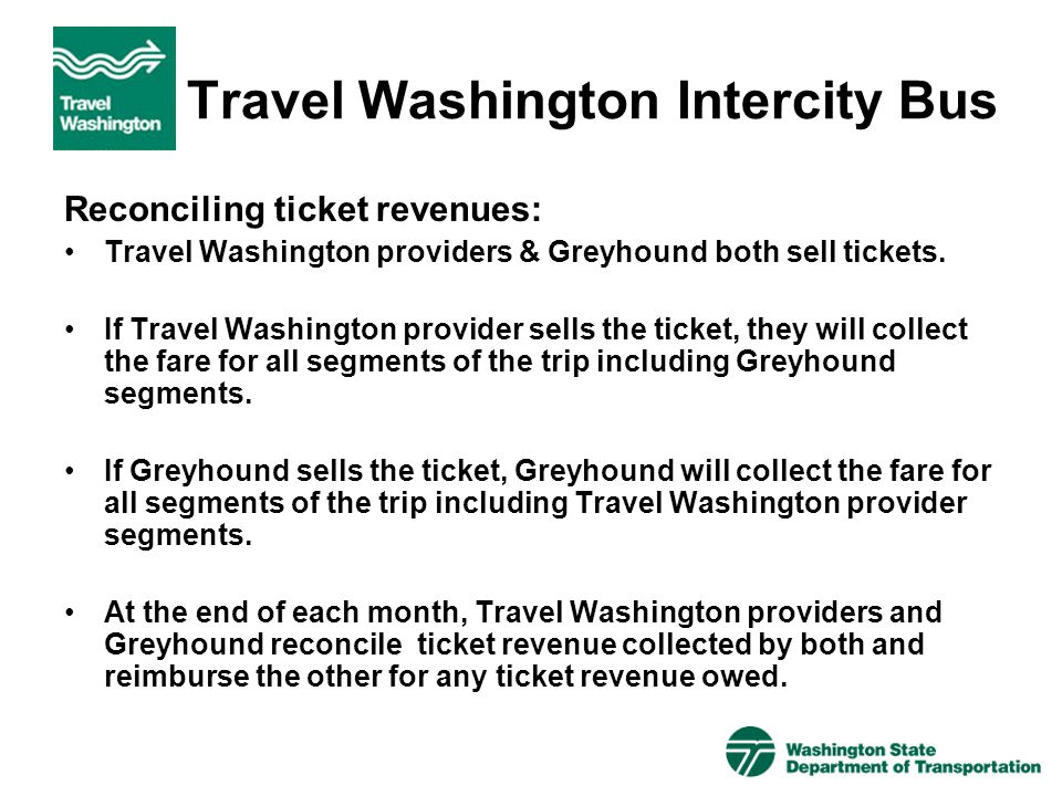 Travel Washington Intercity Bus
