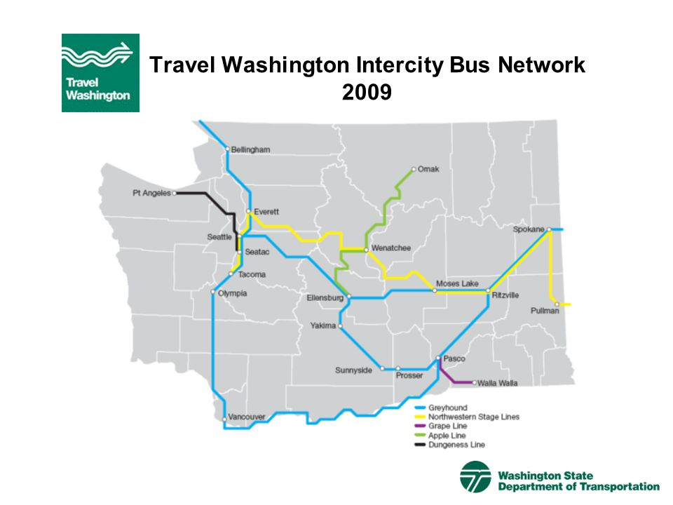 Travel Washington Intercity Bus Network 2009