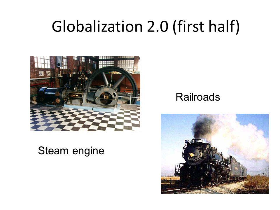 Globalization 2.0 (first half)