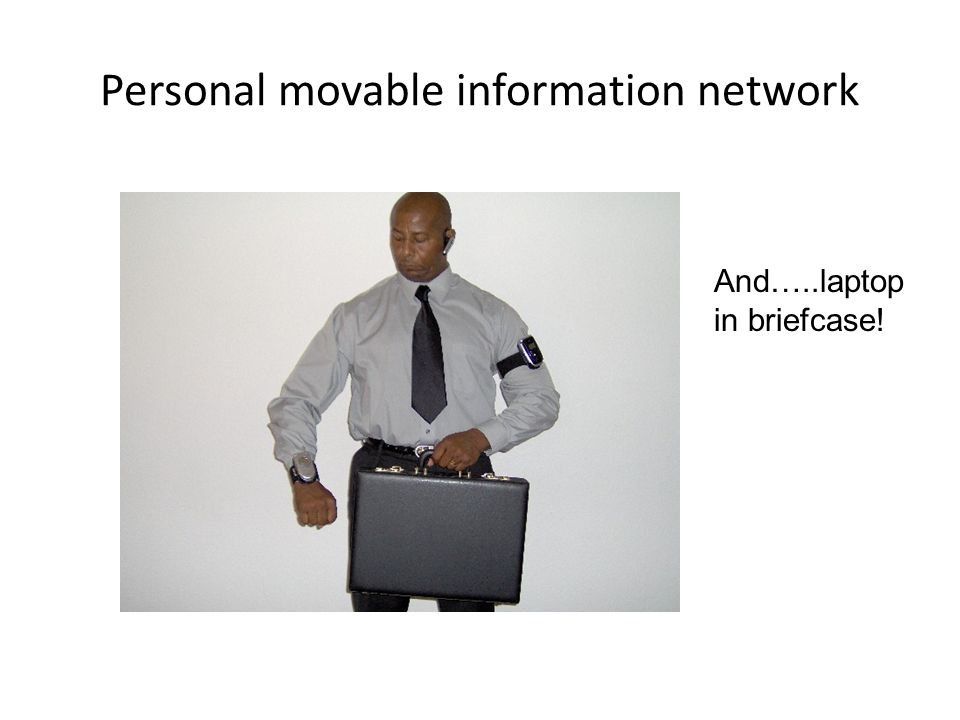 Personal movable information network
