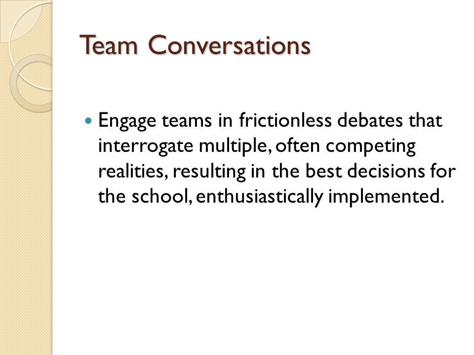 Team Conversations