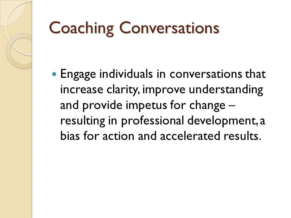 Coaching Conversations
