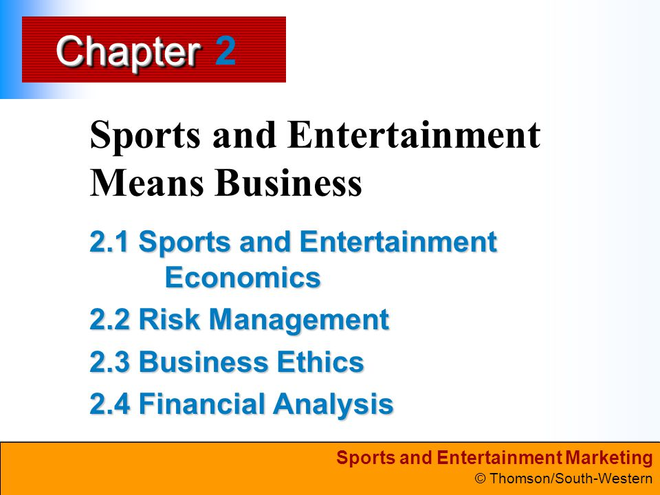Sports and Entertainment Means Business