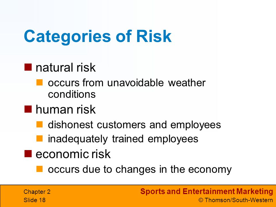 how to avoid economic risk