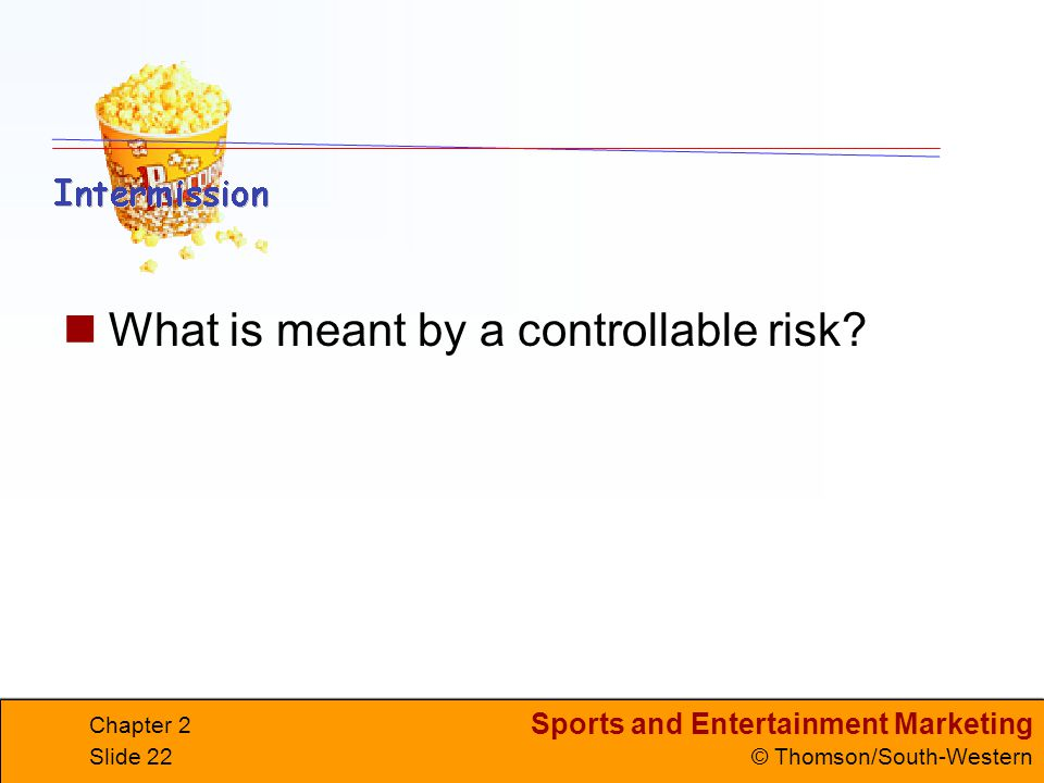 What is meant by a controllable risk