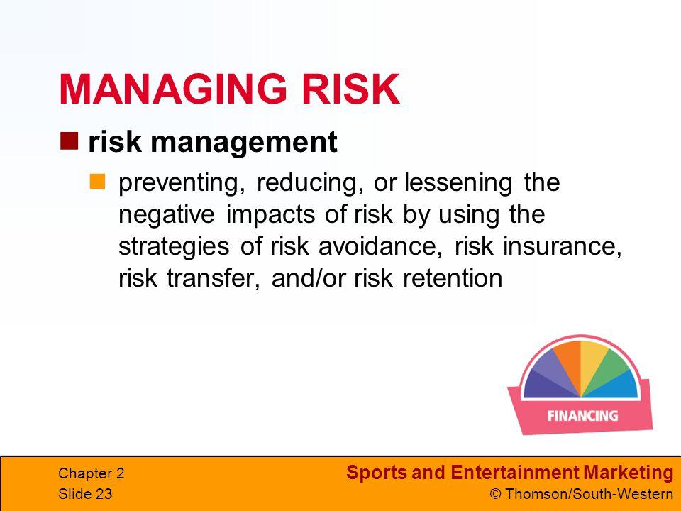 MANAGING RISK risk management