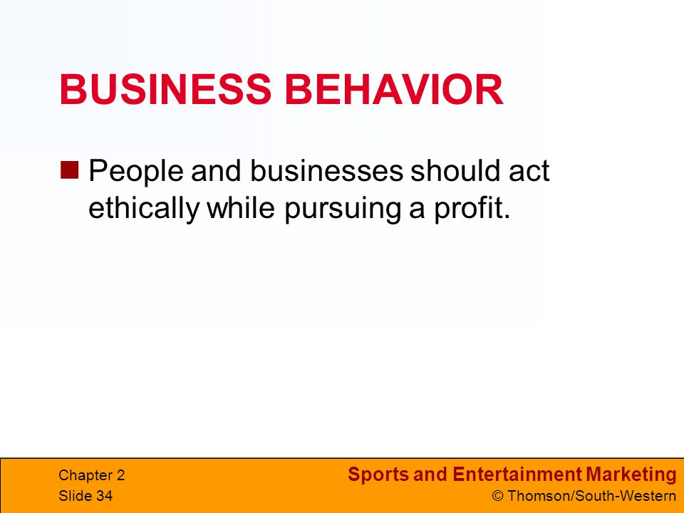 an analysis of ethics in business and the profit from ethical behavior Encyclopedia of business, 2nd ed ethics  method of analysis ethical behavior in business is  moral obligation of business is to make a profit and.