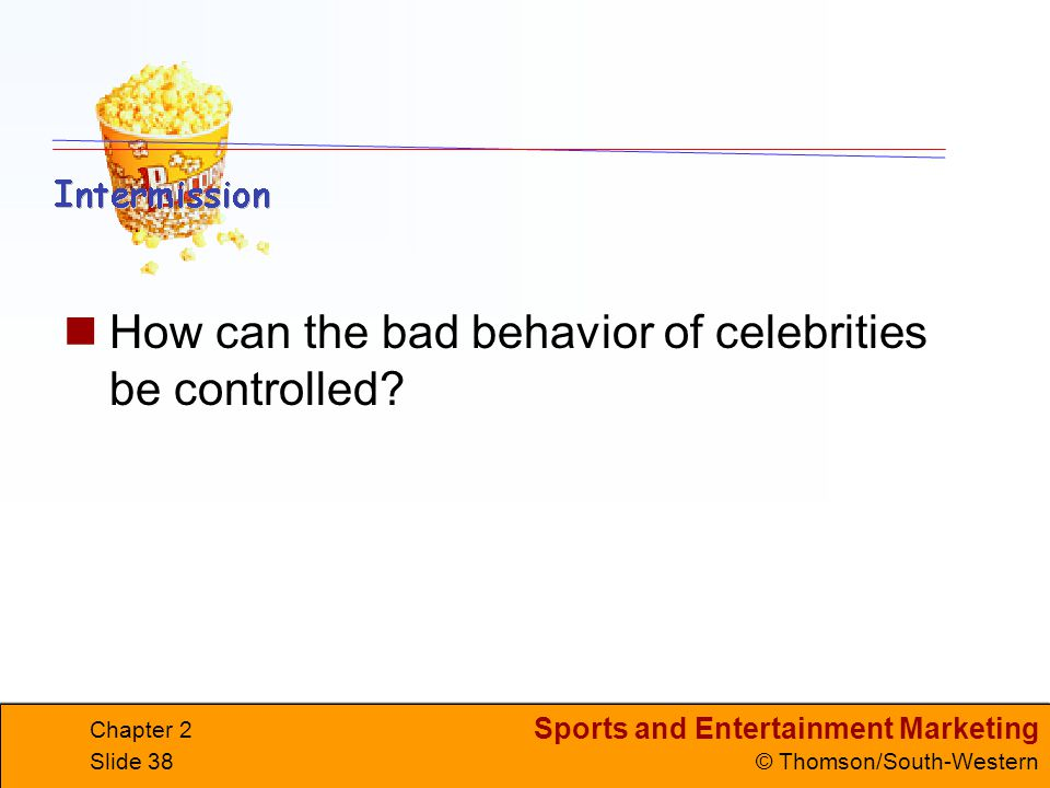 How can the bad behavior of celebrities be controlled