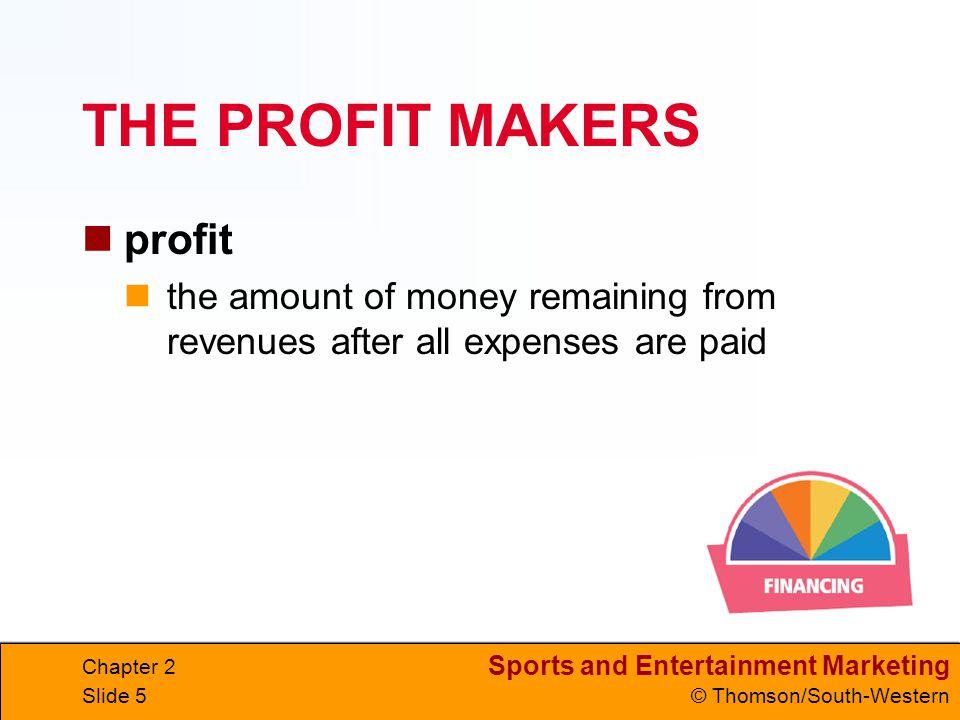 THE PROFIT MAKERS profit