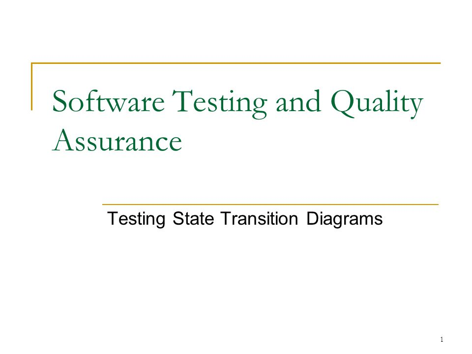 Software Testing and Quality Assurance