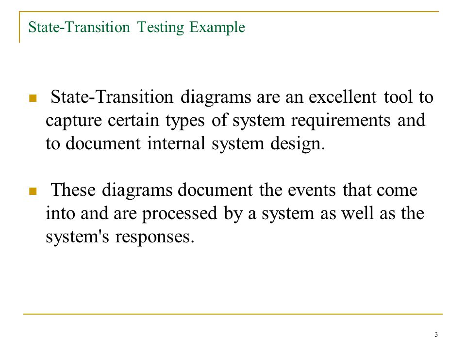 State-Transition Testing Example