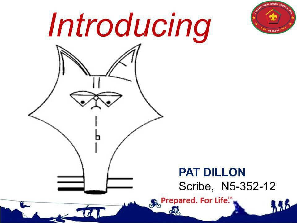 Introducing PAT DILLON Scribe, N5-352-12