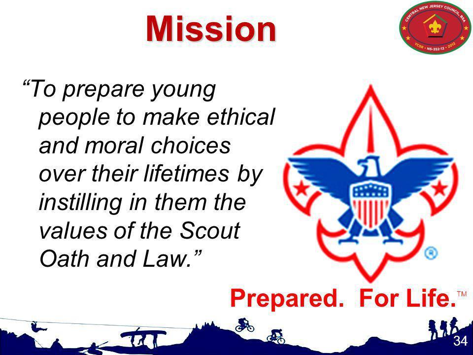 Mission Prepared. For Life.TM