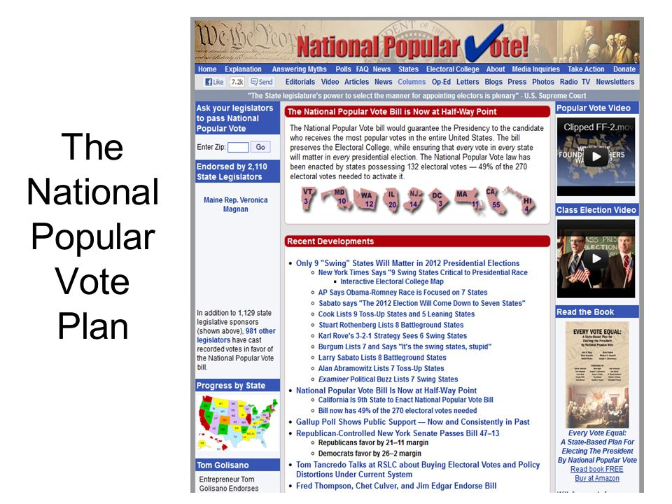 The National Popular Vote Plan