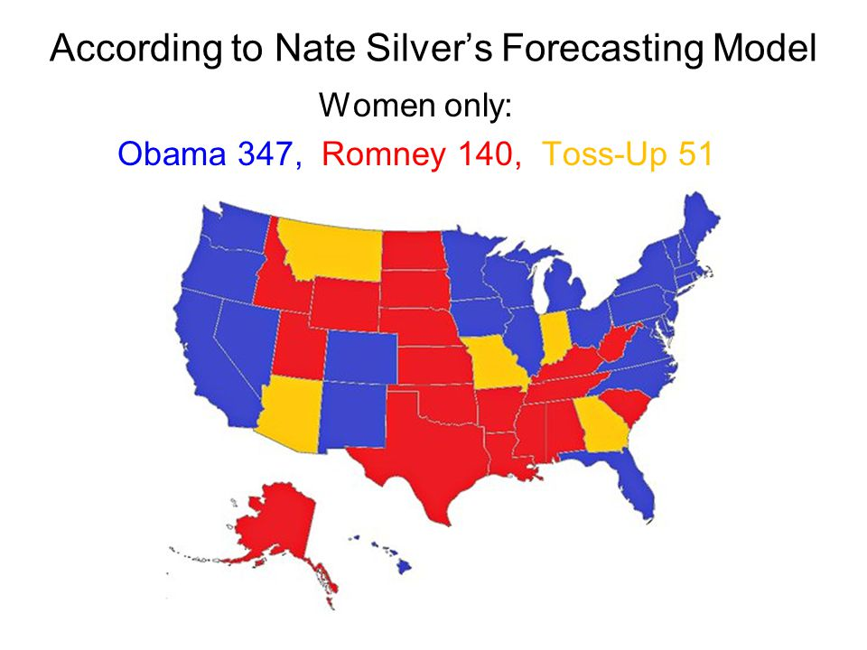According to Nate Silver's Forecasting Model