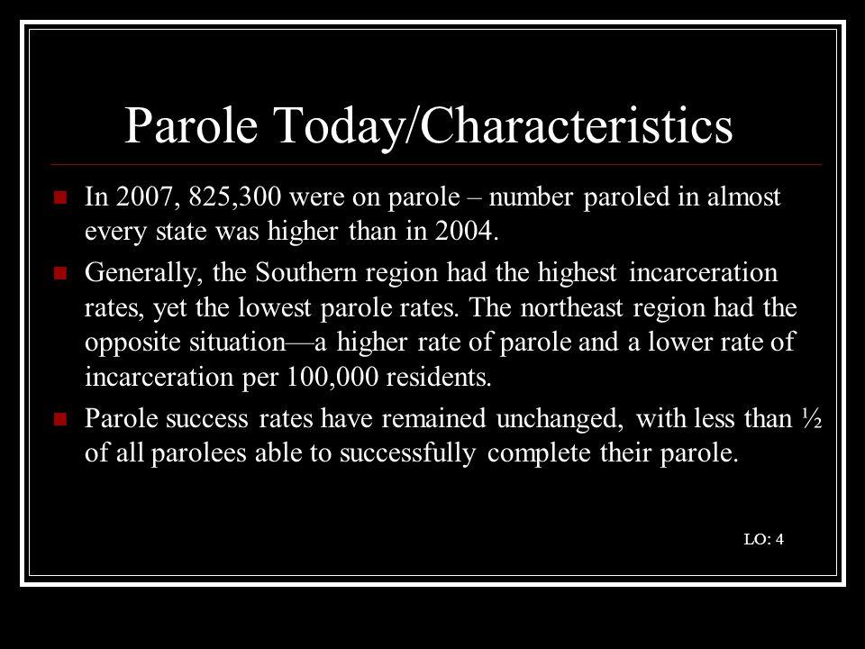 Parole Today/Characteristics