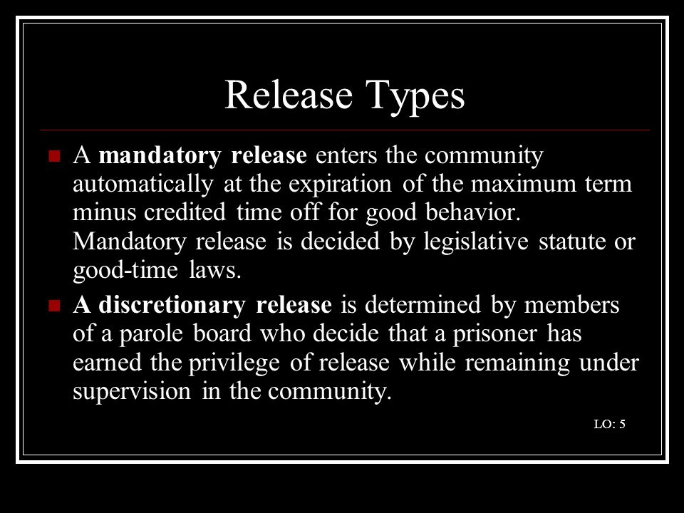 Release Types