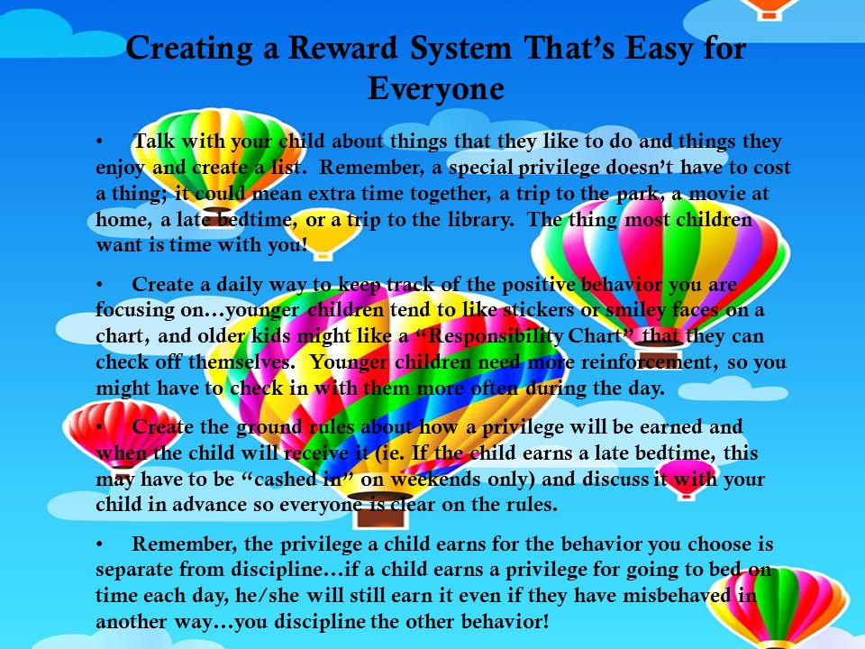 Creating a Reward System That's Easy for Everyone
