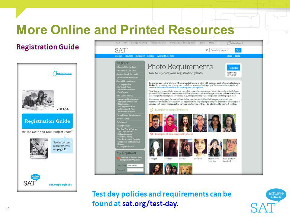 More Online and Printed Resources