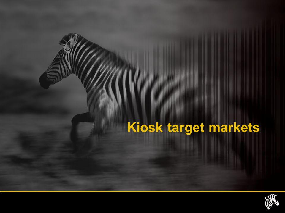 Kiosk target markets